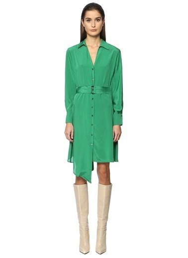 Que Elbise Yeşil